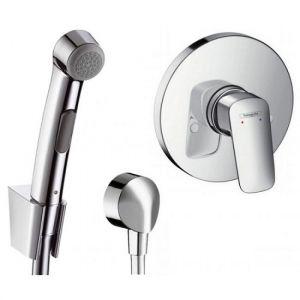 Гигиенический душ Hansgrohe комплект для скрытого монтажа 32128+31764+27454