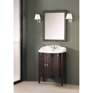 Комплект мебели Gaia Taylor 84 x 50 см (отделка - с эффектом открытых пор, цвет чёрно-коричневый)