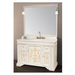 Комплект мебели для ванной на 126 см Gaia PEGASO
