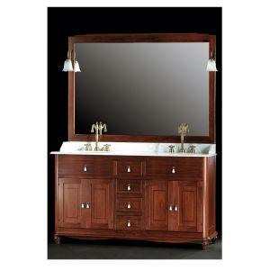 Gaia  Комплект мебели для ванной на 160 см SALINA/B