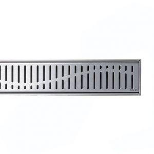 Решетка для душевого трапа Aco C-line Волна 685мм из нержавеющей стали 408557