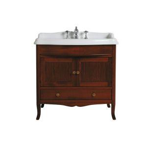Мебель для ванной с прямым фронтом SIMAS Arcade цвет noce