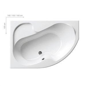 Ванна акриловая 150х105 см Ravak Rosa l L