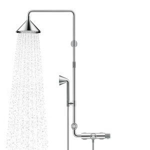 Душевая с термостатом Axor Showers/Front Showerpipe (цвет - хром)