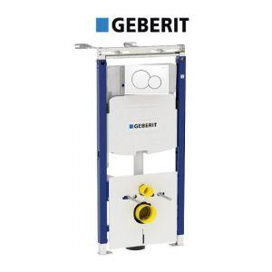 Инсталляция Geberit Duofix 111.362.00.5  (4-в-1) комплект (клавиша белая) 115.770.11.5