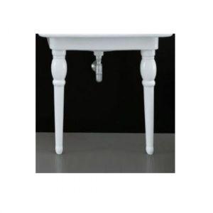 Ножки для консоли белые керамика ArtCeram HERMITAGE HEC003