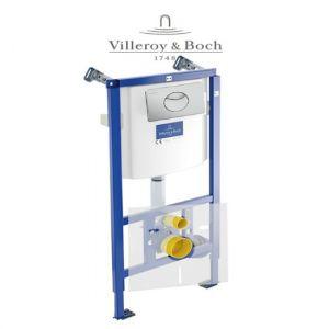 Инсталляция  Villeroy&Boch ViConnect 92246100 + клавиша смыва (хром матовый) 92248569