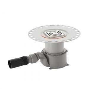 Трап для душа Geberit 100 мм+ решетка для трапа (нержавеющая сталь)