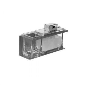 Monolith Стакан + дозатор жидкого мыла