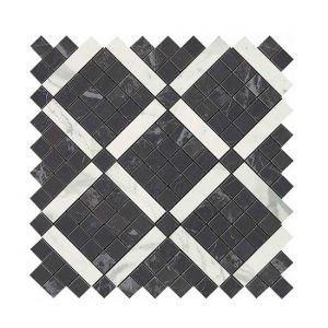 Мозаика Atlas Concorde Marvel Noir Mix Diagonal Mosaic