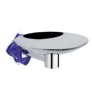 Аксессуар для ванной, мыльница THG Baccara, хром