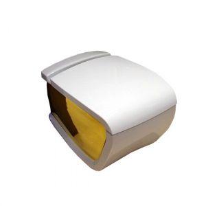 Унитаз подвесной Hidra Ceramica Hi-Line (цвет - белый / золото)