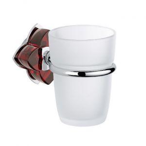 Baccarat, Petale de cristal, красный хрусталь, аксессуар для ванной, подстаканник