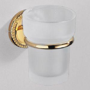 Стаканчик для зубных щеток подвесной, золото Amour de Trianon