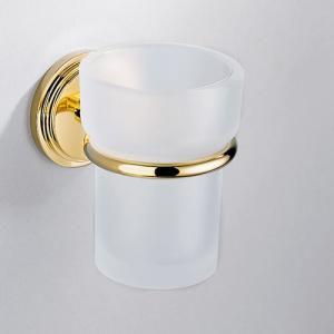Стакан для зубных щеток. золото THG Faubourg