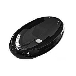 Раковина накладная на столешницу Hidra Ceramica Tao 75х43 см (черная)