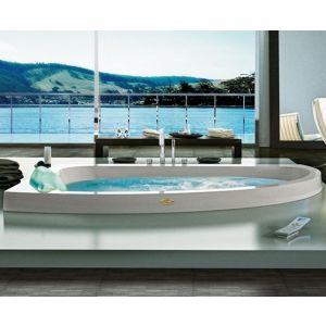 Ванна акриловая гидромассажная Jacuzzi Aquasoul Offset Aquasystem® 150 х 100 см