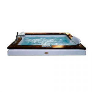 Ванна акриловая гидромассажная 180х150 см Jacuzzi Aura Plus