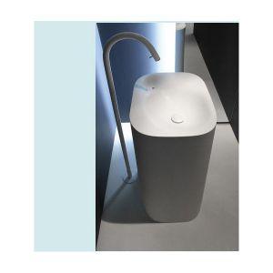Отдельностостоящая раковина Agape Nivis 567x900 белая