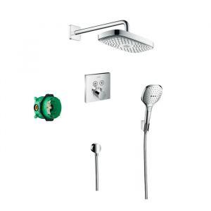 Душевой набор Hansgrohe Raindance Select E / ShowerSelect (цвет - хром)