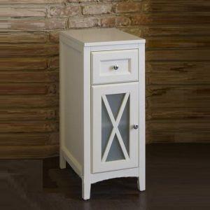 Шкаф Burlington Victorian с одной дверцей, белый