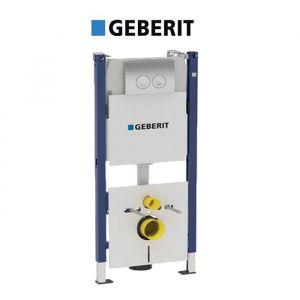 Инсталляция Geberit Duofix 458.112.21.1 (4-в-1) комплект (клавиша хром)
