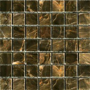 Мозаика Mozaico de Lux Stone C-MOS SABLE BROWN POL 298 х 298 мм