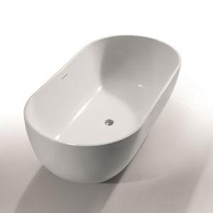 Ванна акриловая Devit Ovale 178 х 90 см + ножки и сифон