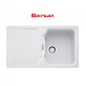 Кухонная мойка Franke Bahia BAG 611 внешний размер 860 мм х 500 мм (цвет - белый)