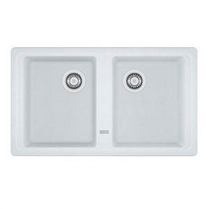 Кухонная мойка Franke BFG 620 Basis внешний размер 860 мм х 500 мм (цвет - белый)