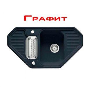 Кухонная мойка Franke Euroform EFG 682-E внешний размер 903 мм х 503 мм (цвет - графит)