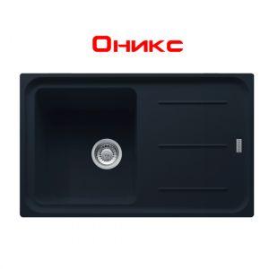 Кухонная мойка Franke Impact IMG 611 внешний размер 780 мм х 500 мм (цвет - оникс)