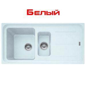 Кухонная мойка Franke Impact IMG 651 внешний размер 970 мм х 500 мм (цвет - белый)
