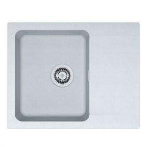 Кухонная мойка Franke Orion OID 611-62 внешний размер 620 мм х 500 мм (цвет - белый)