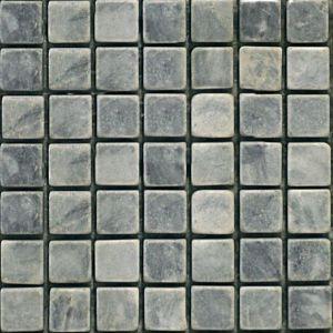 Мозаика Mozaico de Lux Stone C-MOS MUGWORT GREEN 298 х 298 мм