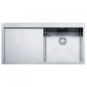 Кухонная мойка Franke Planar PPX 211 TL внешние размеры 1000 мм х 512 мм (чаша слева)