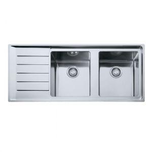 Кухонная мойка Franke Neptune Plus NPX 621 внешние размеры 1160 мм х 510 мм (чаша слева)