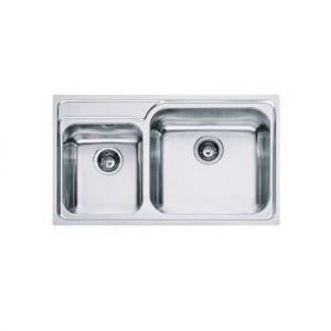 Кухонная мойка Franke Galassia GAX 620 внешние размеры 860 мм х 500 мм