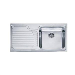 Кухонная мойка Franke Galassia GAX 611 внешние размеры 1000 мм х 500 мм (чаша слева)