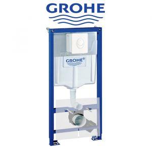 Инсталляция Grohe Rapid SL (4-в-1) комплект 38722001  (клавиша белая)