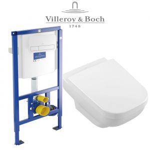 Инсталляция Villeroy & Boch ViConnect (4-в-1)  комплект с унитазом Villeroy & Boch Joyce 5607R001 + ( сиденье Soft Close)