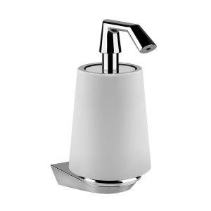 Настенный дозатор жидкого мыла Gessi Cono, хром 45413-031