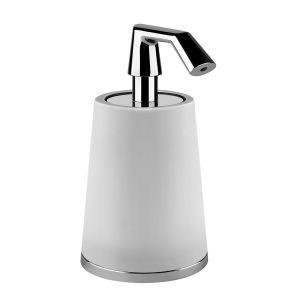 Настольный дозатор для жидкого мыла Gessi Cono, хром 45437-031