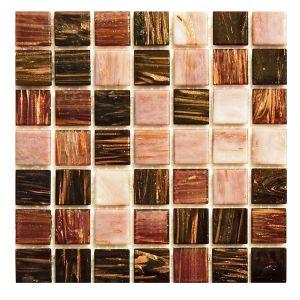 Мозаика Mozaico de LUX R-MOS MIX 20G646062 VIOLET DUSK 327 × 327 × 4 мм