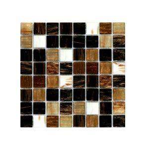 Мозаика Mozaico de LUX R-MOS 20G8810525154501112 BROWN SUNSET 327 × 327 × 4 мм