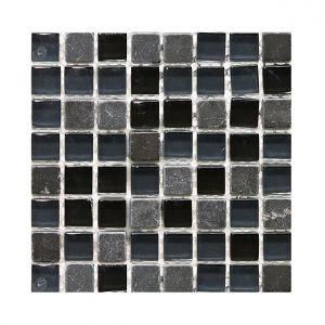 Мозаика Mozaico de LUX S-MOS HT500 BLACK STONE