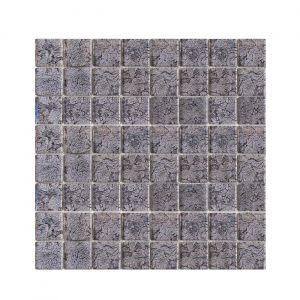 Мозаика Mozaico de LUX T-MOS G04(TX-04) BLACK FOIL (L) 300 x 300 x 4 мм
