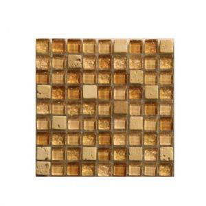 Мозаика Mozaico de LUX S-MOS HT520-1 BEIGE STONE 301 × 301 × 8 мм