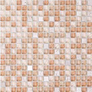 Мозаика Mozaico de Lux S-MOS HT520-1 BEIGE STONE 301 х 301 мм