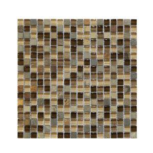 Мозаика Mozaico de LUX T-MOS BEIGE LINEAR 300 × 300 × 8 мм